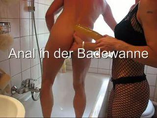 Anal in der Badewanne