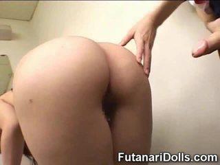 japonski, futanari, hairy