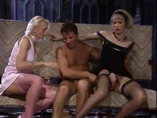 gruppe sex, trekanter, vintage