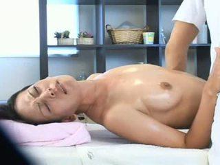Vrouw overspel met haar masseur video-