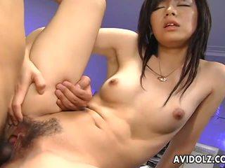 Sexy satomi maeno gets doggy stijl