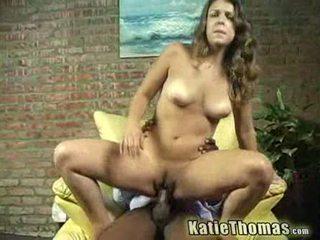Katie gets slammed līdz a melnas guy