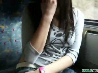 Lief meisje aimee ryan geneukt in publiek
