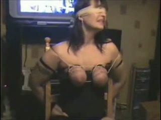 big tits, bondage, amateur