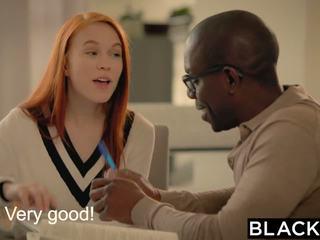 Blacked पहले बड़ा ब्लॅक कॉक के लिए dolly थोड़ा