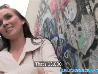 Publicagent karštas mažutė fucks stranger į alleyway - porno video 961