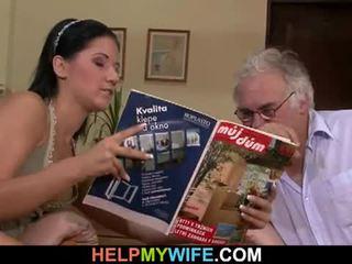 Hubby calls a guy ל זיון שלו אישה