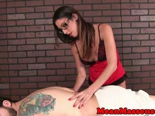 Dom spex masseuse withholding subs オーガズム: フリー 高解像度の ポルノの 4c