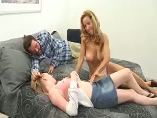 novo group sex, velike joške, hq blowjob