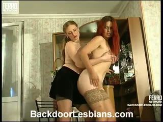 Agatha And Gertrude Excellent Anal Lesbi Act