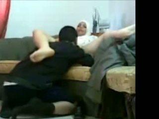 Arab ユダヤ人の 女の子 で オフィス とともに 彼女の クライアント