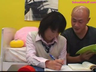 estudante, jovem, japonês