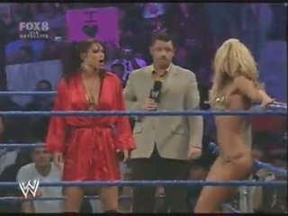 Smackdown divas bikini sacensība - video dailymotion