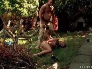 Karstās sekss vergs gets anāls fucked