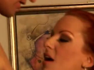 Sexy redhaired cougar