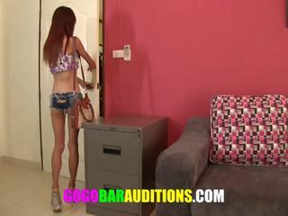 Vājas taieši meitene auditions līdz būt gogo dancer: bezmaksas porno 53