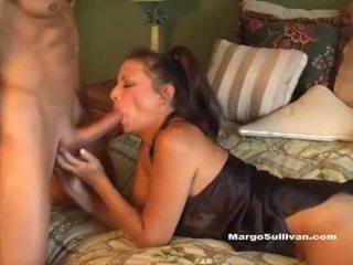 blow job, cum, cougar