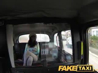 FakeTaxi Horny stunner enjoys anal sex
