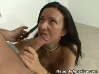 milf blowjob action, pornstars, milf