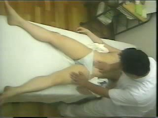 Spycam massage video-