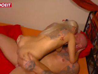 Letsdoeit - vācieši tattooed mammīte fucked grūti līdz viņai muscular lover