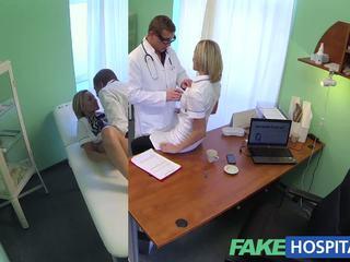 Fakehospital Καυτά νοσοκόμα rims αυτήν τρόπος να ένα αύξηση