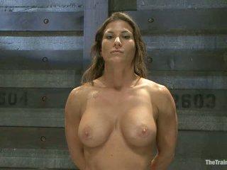 Lesbisk slave trening ariel x br featured trainer aiden starr
