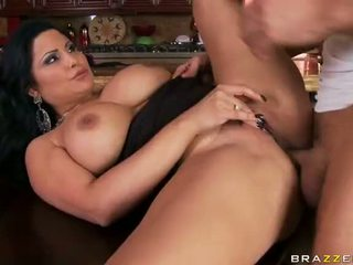brunette, fucked, and