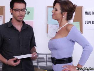 hardcore sex, fuck busty slut, office sex