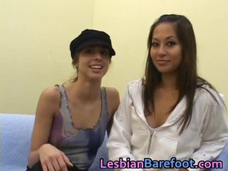 Videos Of Young Lesbians Licking Each Other Up Close And Personal