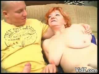 Grootmoeder sucked dudes thick lul