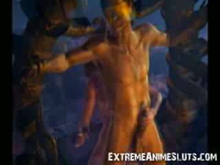 3D Magical Orgy!